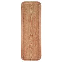 Carlisle 269WFG065 Customizable Light Oak 9 inch x 26 inch Glasteel Display / Bakery Fiberglass Tray   - 12/Case