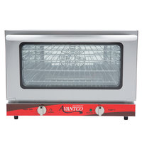 Avantco CO-16 Half Size Countertop Convection Oven, 1.5 Cu. Ft. - 120V, 1600W