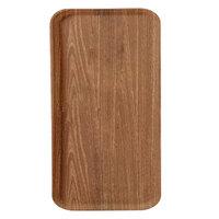 Carlisle 1220WFG063 Customizable 13 inch x 21 inch (32,5 x 53 cm) Glasteel Metric Wood Grain Pecan Fiberglass Tray - 12/Case
