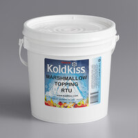 Koldkiss Marshmallow 11 lb. Ready to Use Snowball Topping   - 2/Case
