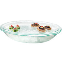 Cal-Mil GL2450-42 Glacier Iced Oval Bowl with Tray
