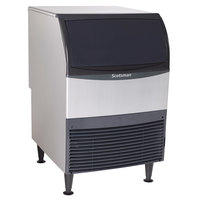 Scotsman UF424W-1A 24 1/4 inch Water Cooled Undercounter Flake Ice Machine - 440 lb.
