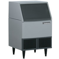 Scotsman AFE424W-1 24 1/4 inch Water Cooled Undercounter Flake Ice Machine - 395 lb.