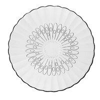 Libbey Bouquet 15500 7 5/8 inch Glass Salad Plate - 36 / Case