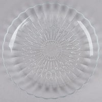 Libbey 15500 Bouquet 7 5/8 inch Glass Salad Plate   - 36/Case