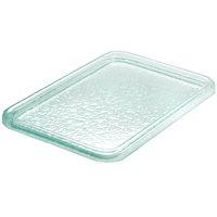 Cal-Mil UG101-43 Glacier 17 inch x 25 inch Folded Edge Rectangular Platter