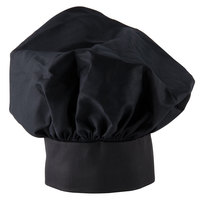 Choice 13 inch Black Chef Hat