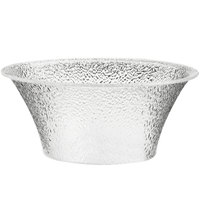 Cal-Mil 403-15-34 15 inch Clear Acrylic Pebble Bell Bowl