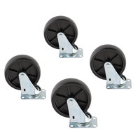 Scotsman KBC1 Casters for Ice Bins - 4/Set