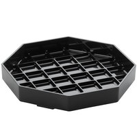 Cal-Mil 308-6-13 Classic 6 inch Black Octagonal Drip Tray