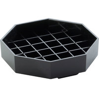 Cal-Mil 308-4-13 Classic 4 inch Black Octagonal Drip Tray