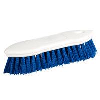 Carlisle 4549414 8 inch Blue Sparta Spectrum Pointed End Scrub Brush