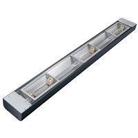 Hatco GRN4L-54 Glo-Ray 54 inch Narrow Halogen Strip Warmer with Lights - 950W