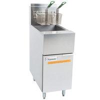 Frymaster GF40 Liquid Propane Floor Fryer 50 lb.