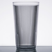 Carlisle 402007 Crystalon Stack-All 20.7 oz. Clear SAN Plastic Tumbler - 12/Case