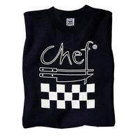 Chef Revival Size XXL Black Cotton Chef Logo T-Shirt