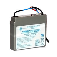 Tor Rey Z-46600825 Replacement Battery for PZC, EQM, and SR Series Scales