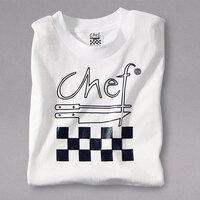 Chef Revival Size M White Cotton Chef Logo T-Shirt
