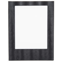 American Metalcraft MCLDSLSBL Securit 10 1/2 inch x 13 3/4 inch Single-Page LED Menu Cover