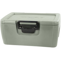 Carlisle IT18062 Olive 8 inch Deep Top Loading Insulated Food Pan Carrier