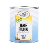 Cafe Classics Trans Fat Free Lemon Pudding #10 Can   - 6/Case