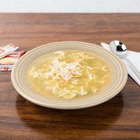 Homer Laughlin 451330 Fiesta Ivory 13.25 oz. Rim Soup Bowl - 12/Case