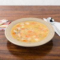 Homer Laughlin 451330 Fiesta Ivory 13.25 oz. China Rim Soup Bowl - 12/Case