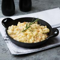 Lodge HMSRD 14 oz. Pre-Seasoned Heat-Treated Mini Cast Iron Round Casserole Dish