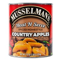 Musselman's Heat N Serve Spiced Homestyle Country Apples 6 - #10 Cans / Case