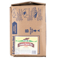 Fox's Bag In Box Sweetened Iced Tea Syrup with Lemon Flavor - 5 Gallon