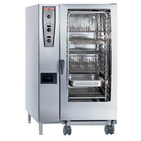 Rational CombiMaster Plus Model 202 A229106.43.202 Combi Oven with Twenty Full Size Sheet Pan Capacity - 480V 3 Phase