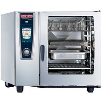 Rational SelfCookingCenter 5 Senses Model 102 A128106.43 Combi Oven with Ten Full Size Sheet Pan Capacity - 480V 3 Phase
