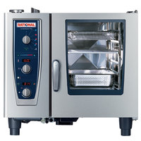 Rational CombiMaster Plus Model 61 A619206.27D202 Combi Oven with Six Half Size Sheet Pan Capacity - Liquid Propane