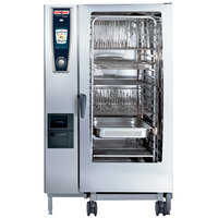 Rational SelfCookingCenter 5 Senses Model 202 A228206.19E Combi Oven with Twenty Full Size Sheet Pan Capacity - Natural Gas