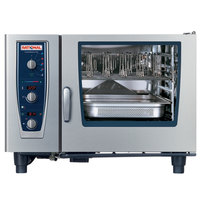 Rational CombiMaster Plus Model 62 A629206.19E202 Combi Oven with Six Full Size Sheet Pan Capacity - Natural Gas