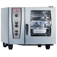 Rational CombiMaster Plus Model 61 A619106.12.202 Combi Oven with Six Half Size Sheet Pan Capacity - 208/240V 3 Phase