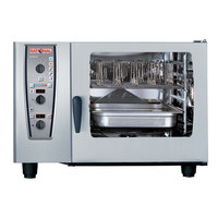 Rational CombiMaster Plus Model 62 A629106.43.202 Combi Oven with Six Full Size Sheet Pan Capacity - 480V 3 Phase