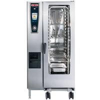 Rational SelfCookingCenter 5 Senses Model 201 A218106.12 Combi Oven with Twenty Half Size Sheet Pan Capacity - 208/240V 3 Phase