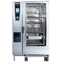 Rational SelfCookingCenter 5 Senses Model 202 A228206.19D Combi Oven with Twenty Full Size Sheet Pan Capacity - Liquid Propane