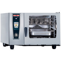 Rational SelfCookingCenter 5 Senses Model 62 A628206.19E Combi Oven with Six Full Size Sheet Pan Capacity - Natural Gas