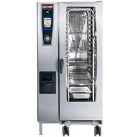 Rational SelfCookingCenter 5 Senses Model 201 A218206.27D Combi Oven with Twenty Half Size Sheet Pan Capacity - Liquid Propane