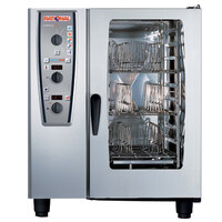 Rational CombiMaster Plus Model 101 A119106.12.202 Combi Oven with Ten Half Size Sheet Pan Capacity - 208/240V 3 Phase