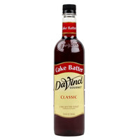 DaVinci Gourmet 750 mL Cake Batter Classic Coffee Flavoring Syrup