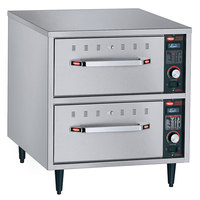 Hatco HDW-2N Freestanding Narrow Two Drawer Warmer - 208V, 900W