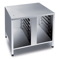 Rational 60.30.340 US III 44 1/8 inch x 38 7/8 inch Mobile Open Front Base Cabinet for 62 and 102 Combi Ovens (14 Pan Capacity)