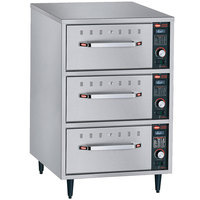 Hatco HDW-3N Freestanding Narrow Three Drawer Warmer - 208V, 1350W