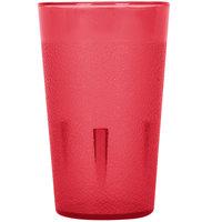 5 oz. Red Pebbled Plastic Tumbler   - 12/Pack