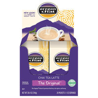 Oregon Chai Original Chai Dry Mix Single Serve Packets - 6/Case