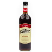 DaVinci Gourmet 750 mL Maple Flavored Sweetener Syrup