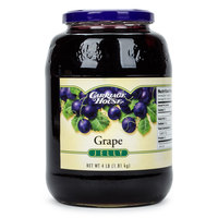 Grape Jelly 4 lb. Glass Jar - 6/Case